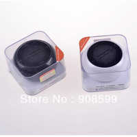 Original JH-MAQ5BT bluetooth mini speaker for iPhone ipod Laptop mini Portable Rechargeable Stereo loud Speaker 50pcs/lot by DHL