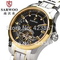 hongkong top brand men mechanical watch tourbillon watches tungsten steel sapphire automatic watch waterproof 3ATM luxury gift