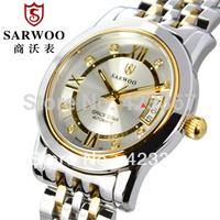 2015 Fashion Watch Men Top Brand Men Fully-automatic Mechanical Watch Sapphire Self Wind Calendar Waterproof 3atm Free Shipping