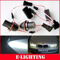 2x10W 20W CREE LED Angel Eyes Marker For BMW E39 E60 M5 X5 X3 E53 E63 E64 E65