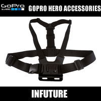 Chest belt for gopro camera accessories Girdle Chest Fitted Shoulder Strap for hero 1 2 3  free shipping WT-GP45