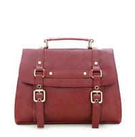 Smilyan vintage fashion PU leather women messenger bags briefcase handbag shoulder cross-body women bags free shipping
