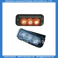 2 PCS Free shipping 3W LED strobe flasher !!!Big Power High brightness TBF-3691