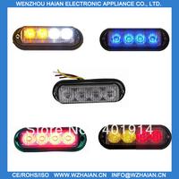 2 pcs free shipping via fedex+4w big power led light+visor lights TBF-4691L3