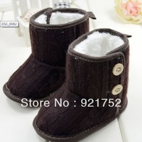 free shipping Snow shoes baby boots  baby shoes toddler shoes soft bottom