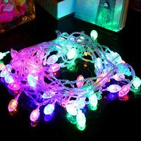 1 PCS 10M Fairy dual-color string Lights For Wedding Christmas Decoration 110V-220V