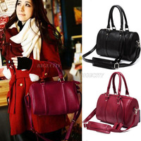 New Fashion High Quality Christmas Vintage Ladies Pillow Messenger Hobo Tote Handbag Shoulder Bag Black Red HK  for Xmas