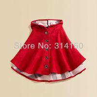 FREE SHIPPING----girl winter wear clothing coat baby girl hoodie cloak cappa children autumn cloak cape cotton outwear 1pcs