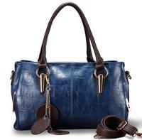 Women's bags 2013 genuine leather first layer of cowhide women's handbag fashion one shoulder handbag cross-body bag