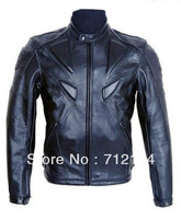 wholesale- PU professional racing Jacket motorcycle Jacket motocross jacket black top quality