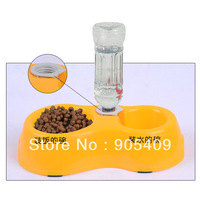 Cute Pet Food Bowls Automatic Water Drinking Feeding Basin For Pets Puppy Dogs Cats