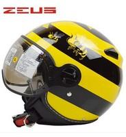 Free shipping casque moto zeus helmet motorcycle open face zs-210c casco jet casco moto vintage many color M L XL XXL DOT approv