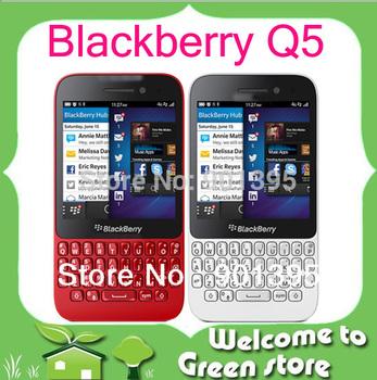 Original Q5 Blackberry Q5 mobile phone 2G Ram+8G Rom 5.0MP Camera  Blackberry OS Smartphone QWERTY Keyboard