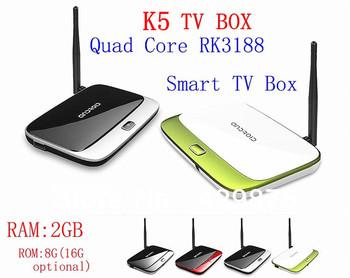 MK888 K-R42 CS918  Android 4.2 TV Box RK3188 Quad Core Mini PC  4.0 Bluetooth  XBMC Smart TV Media Player with Remote Controller