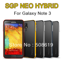 Note 3 Neo Hybrid Case,Spigen SGP Bumblebee TPU PC Hybrid Case For Samsung Galaxy Note 3 N9000 Note3 With Retail Package