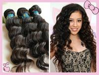 "3pcs/lot Deep Wave 5A Top Quality Brazilian Virgin Hair Extensions 100% Human Hair Weft 12""-28""-- unprocessed hair"