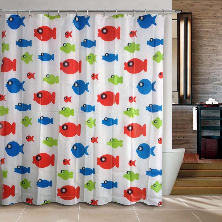 Cortinas De Baño Por Mayor:Colorful Bathroom Shower Curtains