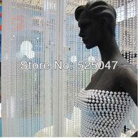 Simulated-pearl curtain plastic bead curtai for engineering curtain Imitation pearl bead curtain