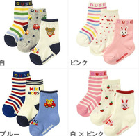 Floor socks cartoon baby socks,  loose mouth, spring and autumn and winter in tube socks, cotton non-slip