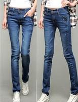 2014 Autumn new arrival jeans female trousers elastic plus size slim pencil pants