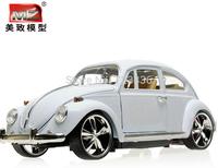 1:18 alloy car models classic beetle bubble car