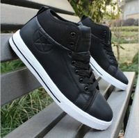 Free shipping Popular men's 2013 fashion elevator shoes male skateboarding shoes trend shoes