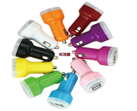 1pcs 2.1A  1A Dual USB Car Charger for iPad,for iPhone 5 4G 3GS and Cell Phone / PDA / Mp3 / Mp4 Free shipping