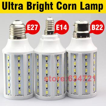 Pure White 15W 60 LED SMD 5730 E27 Corn Light Bulb 220V Energy Saving Lamp 2700-3500K