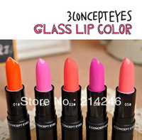 Free shipping   hotsale Fashion cosmetic lipstick  makeup lipstick Pure Color Lip  high quality candy colour