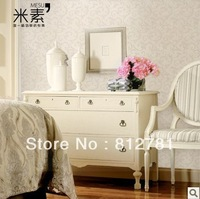 modern Europe Embossed papel de parede roll fashion non-woven wallpaper plain tv backdropLiving Room, Bedding Room wall paper