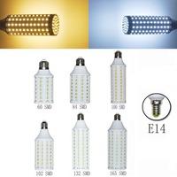 Energy Saving  E14 5050 SMD LED Warm&Cool  Corn Light Lamp 5W 7W 10W  12W Bulb 220V