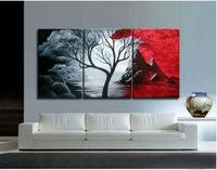 Free shipping 100% Hand painted artwork The Cloud tree High Q. Wall Decor Modern Landscape Oil Painting on canvas C/624