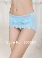 Women Lace sexy underwear sexy ladies panties lace temperament briefs Free shipping