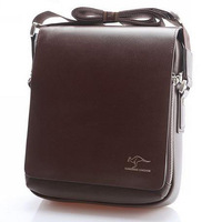 Leather Bags Men's Fashionable Briefcase Designer Brand 4 Size Casual Vintage Messenger Bags Portfolio Cowhide Shoulder Bags