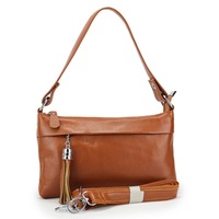 2013 fashion flow must be real cowhide make generous young and beautiful handbags, dual zero wallet. Free shipping.
