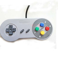 High Quality Game Handle for SNES/SFC Classic Style colorful buttons SNES SFC Controller Free Shipping