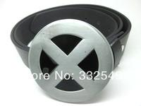 X-MEN logo metal BUCKLE with Free belt , Free shipping worldwide