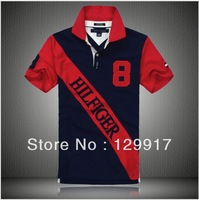 fashion casual shirt 2013 brand hot selling sport tshirt men polo shirts tees tops s-xxl free shipping C52