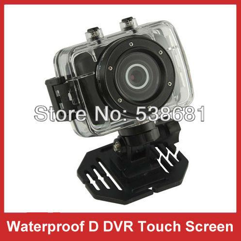 DVR DV 720P Helmet Bike Waterproof HD Action Camera Sport Car Camcorder Recorder(Hong Kong)