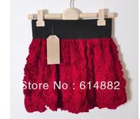 New Arrival Female Rose Flower Skirt Fashion Mini Skirts  Bust Skirt Free Shipping  Wholesale SK06