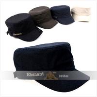 5 Colors Free Shipping Element letter flat military hat Star casual sun cap baseball cap Photographers cap