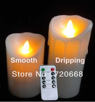 Christmas Decoration LED candle with remote control function