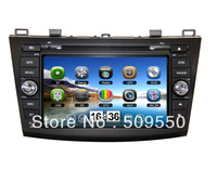 New! Mazda 3 Car DVD with GPS Navigation System,Bluetooth,AM/FM,IPOD,TV,3G Options