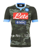 SSC NAPOLI soccer jersey 13 14,13-14 best thai quality soccer jersey ,naples third away football jersey,NAPOLI 3rd jersey