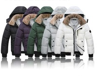 Brand Men down jackets  quality coat Winter overcoats thickening Outwear  wholesale