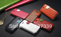 Colorful i*phone5S / 5 turn around wallet leather case protective shell mobile phone sets