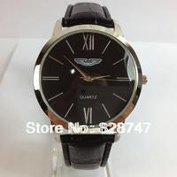2014 New Hot Thin leisure men's watches leather belt business men's Pointer quartz  watch vintage simple watch, Cheap wholesale