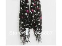 Fluid silk fashion scarf long design ol elegant gentlewomen scarf