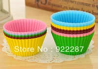 Food grade silicon baking cups silicone cake molds for baking muffin cups cupcake cup high quality 30pcs/lot free shipping