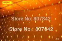 Multicolor 3MX2M 210LEDs 220V LED NET Decoration Light String Home Garden LED Christmas Light Bulbs For Party Wedding Holiday